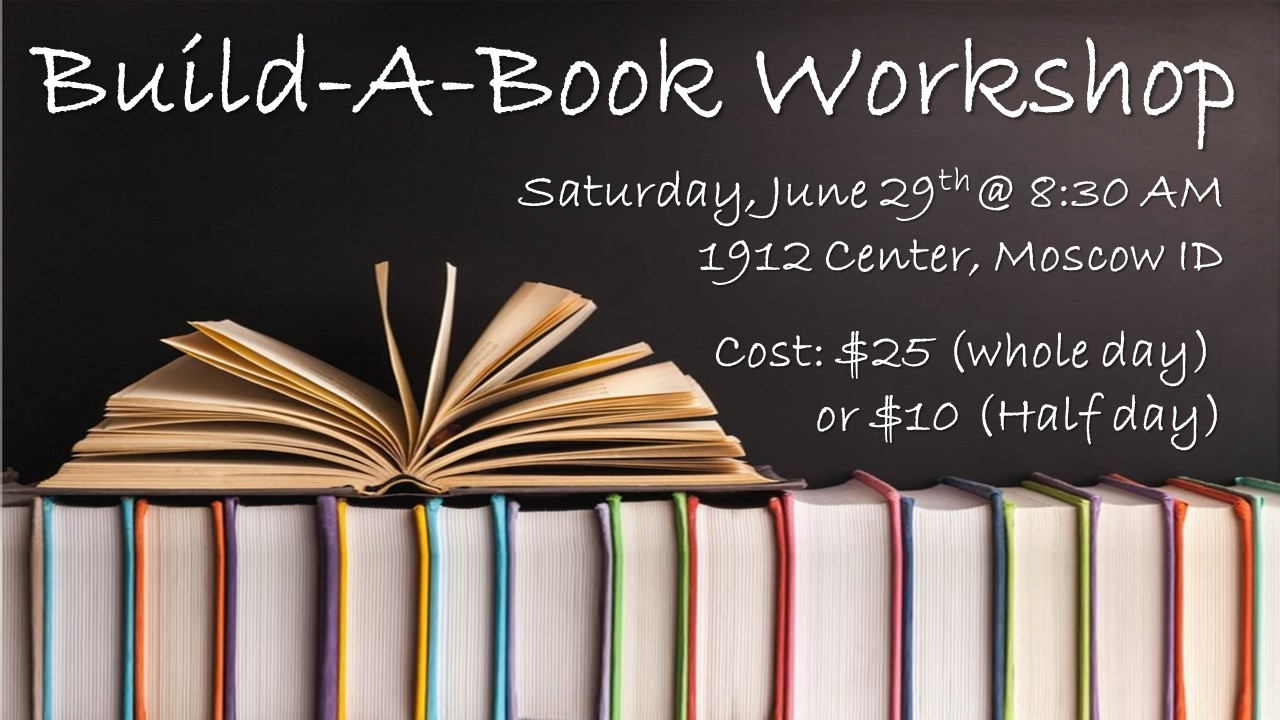 Build-A-Book Workshop (full day)
