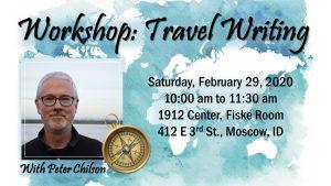 Workshop: Travel Writing @ 1912 Center