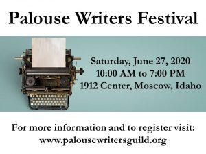 Palouse Writers Festival @ 1912 Center