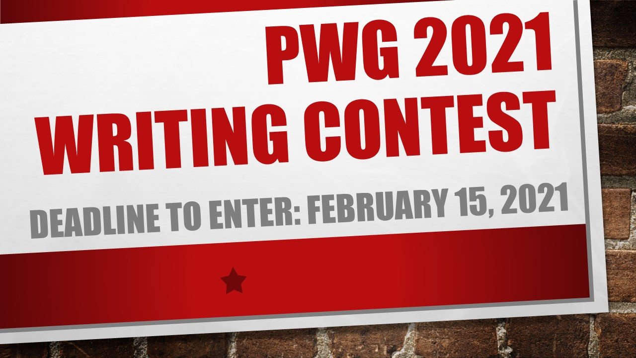 PWG 2021 Writing Contests