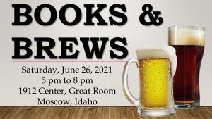 2021 Books & Brews @ 1912 Center