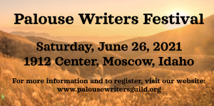 2021 Palouse Writers Festival @ 1912 Center